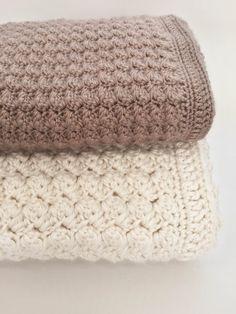 Crochet bebé manta patrón  manta ganchillo por DeborahOLearyPattern