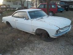 Corvair..what a waste of a good car ...be a great project...
