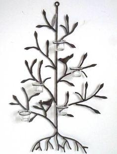 arbre de lumi re rond grand mod l en m tal facon bronze point la ligne d co pinterest. Black Bedroom Furniture Sets. Home Design Ideas