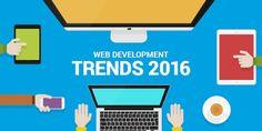 best web development trends 2016