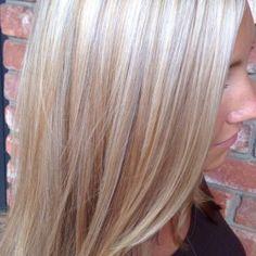 Platinum blonde hair with red lowlights - Blonde : Fashion Styles Ideas #LnV1ZR1mkR