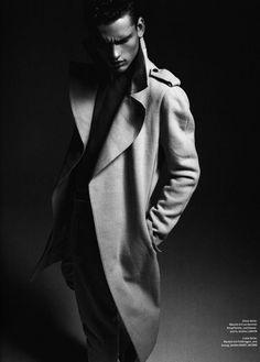 Simon Nessman ph Xevi Muntané for GQ Style Germany