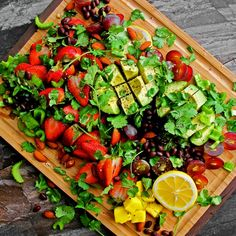 Avocado Fruit Salad...I want to make this and present this to my family...it is just awesome.