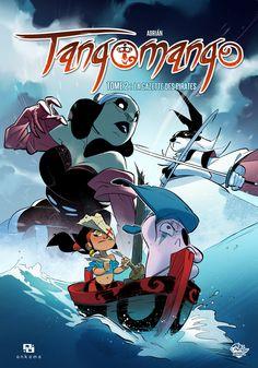 Tangomango Vol. La gazette du pirate - Comics by comiXology Comic Book Artists, Comic Books Art, Pirate Cartoon, Comic Store, Comic Page, A Comics, Game Art, Pirates, Character Design