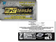 Hipertensão - Extreme (Convite)