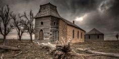 Abandoned church in Oklahoma
