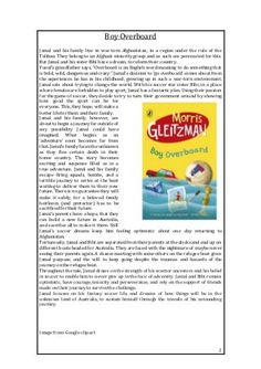 """A group of activities to be used in conjunction with the book """"Boy Overboard"""" by Morris Gleitzman. Be sure to read the book before completing the activities. Morris Gleitzman, Books For Boys, English Words, Booklet, Activities, Reading, Word Reading, Reading Books, Libros"""