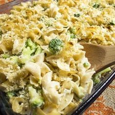 Recipe for Skinny Baked Mac and Cheese with Broccoli, inspired from Skinny Taste.