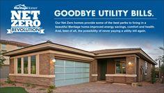 Net Zero Energy Home: Net Zero - Meritage Homes