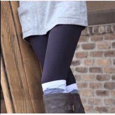 ️SOLD leggings High waist fleece ️black leggings nwt Vivacouture Accessories Hosiery & Socks
