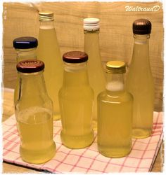 Vielerlei Selbstgemachtes: Zitronen-Ingwer-Sirup