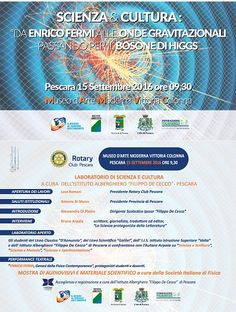 Pescara il Rotary Club promuove la Giornata della Scienza