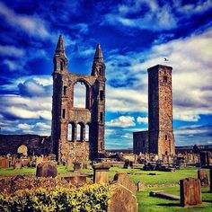 Found this shot of St Andrews cathedral. Beautiful place!