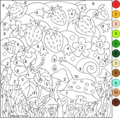 Color by Number Coloring Books for Adults Fresh Nicole S Free Coloring Pages Coloring Pages Adult Color By Number, Color By Number Printable, Color By Numbers, Paint By Number, Coloring Book Pages, Printable Coloring Pages, Coloring Sheets, Coloring Pages For Kids, Art For Kids