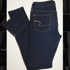 NEW American Eagle jeans size:8 Never worn or washed!! American Eagle Outfitters Jeans Skinny