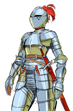 Dragon Medieval, Medieval Armor, Medieval Fantasy, Female Character Design, Character Design Inspiration, Character Concept, Character Art, Armadura Medieval, Dungeons And Dragons Characters