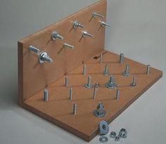 Larger image for Freestanding Bolt Board