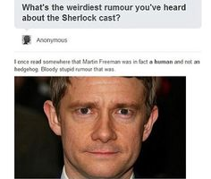 "LOL ""Bloody stupid rumor that was."""