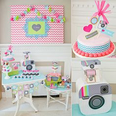 Like you, we're pretty obsessed with Instagram, so when we spotted this Insta-party from Anders Ruff, we knew we had to share. Designed for 11-year-old Brynne, the daughter of Anders Ruff designer Adria Ruff (who threw the party together in two days!),
