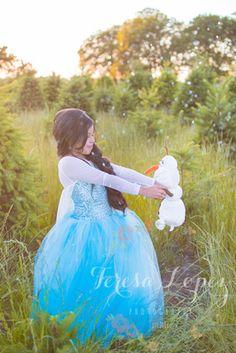 { Frozen Inspired Session } Birthday Photo shoot // Eugene Oregon // Teresa Lopez Photography