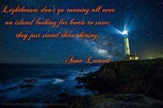 Anne Lamott, motivational