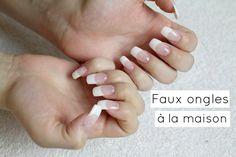 Comment se faire des faux ongles à la maison?