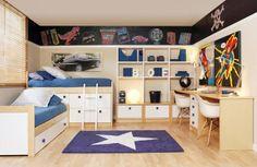 Recursos para cambiar de habitación: de niños a adolescentes – Deco Ideas Hogar