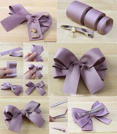 Cute idea for DIY bow