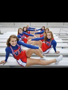 60 Ideas sport photography cheerleading team pictures for 2019 Cheerleading Picture Poses, Cheer Picture Poses, Cheer Poses, Picture Ideas, Photo Ideas, Dance Team Photos, Cheer Team Pictures, Cheerleading Workouts, School Cheerleading