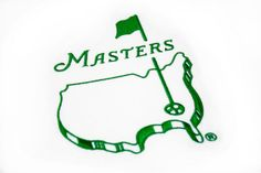 Masters Golfing Logo Embroidered