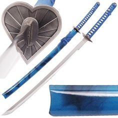 Lou Wo Heart Japanese Katana Bleach Anime by Bleach. $28.90. Bleach Lou Wo Love Sword