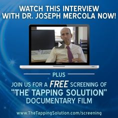 Did you know that Dr. Mercola requires that you use Tapping to be seen in his or her office?  In fact, he states that there is a huge emotional connection to autoimmune diseases and emotional distress occurring before the age of 5.