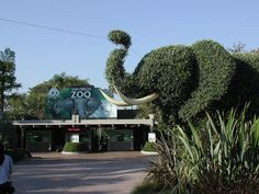 Entrance to the San Diego Zoo