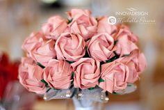 Bouquet Kawasaki roses. Paper Bouquet. Informações: contato.innovadesign@gmail.com www.innovadesign.com.br