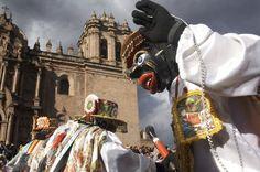 Photo: Corpus Christi festivities in Cusco, Peru