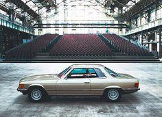 Mercedes SLC Coupe W 107