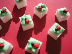 Hello And Welcome!  We Sincerely Apprecate You for taking the time to look around.   These Sugar Cubes are Simply Darling !!!!! And would make a