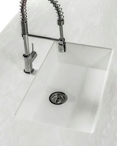 Kitchen Sinks   Corian® - I like the work & cutting surface in ...