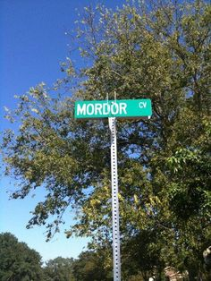 One does not simply walk into Mordor Street