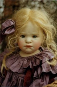 Mopsine - OOAK Art doll by Ella Hass