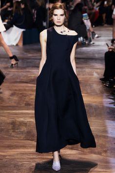 Shoulder-baring dresses for Dior SS16 couture http://www.londonfittingrooms.com/le-boudoir/paris-haute-couture-fashion-week-ss16