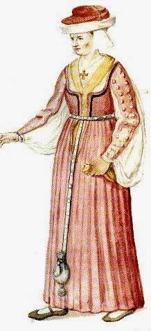 Matsukaze Workshops: 16th Century Irish Dress Gallowglass Lass