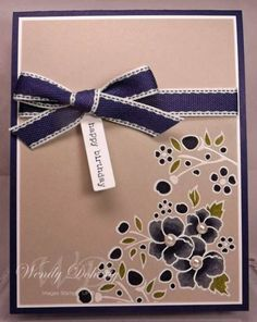 Concord Crush Birthday by Wdoherty - Cards and Paper Crafts at Splitcoaststampers