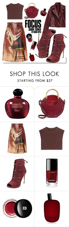 """All Wine"" by fsjamazon ❤ liked on Polyvore featuring White Label, Christian Dior, Chloé, Prada, adidas Originals, Chanel, Edward Bess and Comme des Garçons"