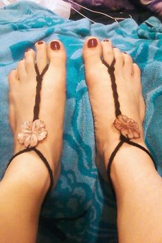 DIY my first experiment at Barefoot Sandals - MT