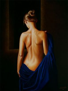 "Saatchi Online Artist Horacio Cardozo; Unknown, ""Perpetual Blue"" #art"