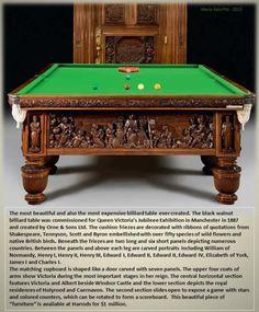 Antique Brunswick Billiards Monarch Pool Table EBONY   Brunswick Billiards  And Pool Table