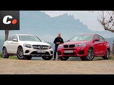 BMW X4 2017 SUV vs Mercedes-Benz GLC Coupé   Comparativa   Prueba / Review en español   Coches.net - MasQmotor