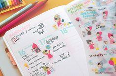 Calendar and stickers. http://favim.com