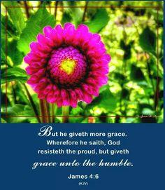 James 4:6  KJV